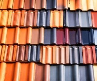 Ceramic tile, shingles, roofing material