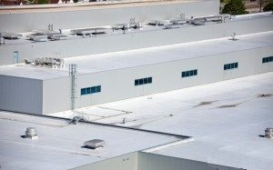 TPO industrial roofs